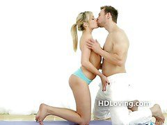 Erotic makeout turns to pussy licking filmed in high definition