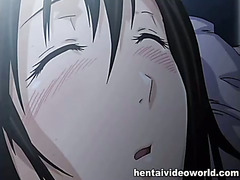Cute hentai girl in hot hentai movie