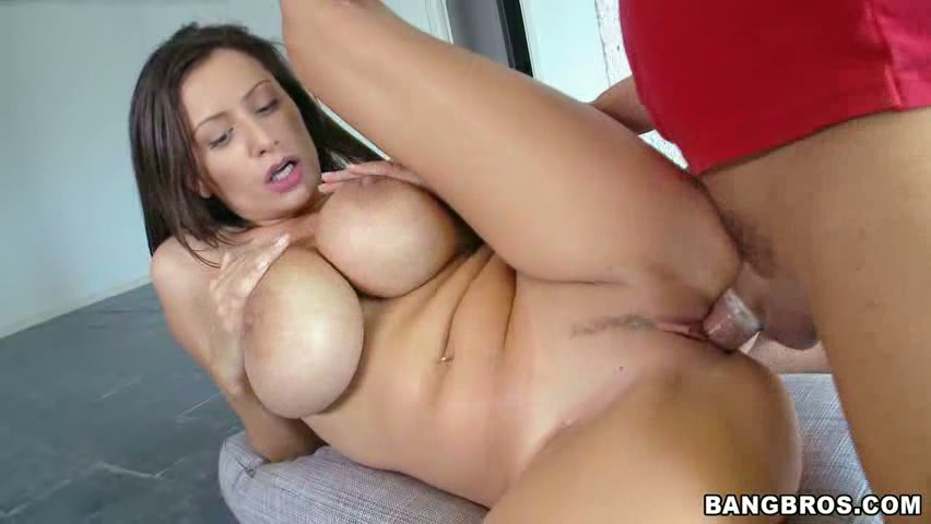 Beautiful natural tits giant cock