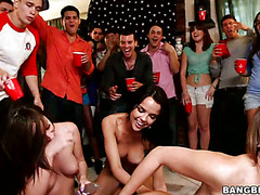 Pornstars make this the party of your life as they turn it into an orgy