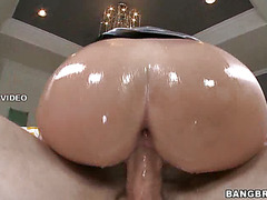 Ass Covered With Lube
