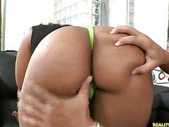Lareina flaunts her big booty.