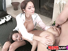 Dillion gets her tight little asshole licked by her school teacher.