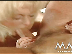 Classic German wife enjoys a good pussy pounding