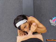 Fit chick pounded by the Pawnshop owner