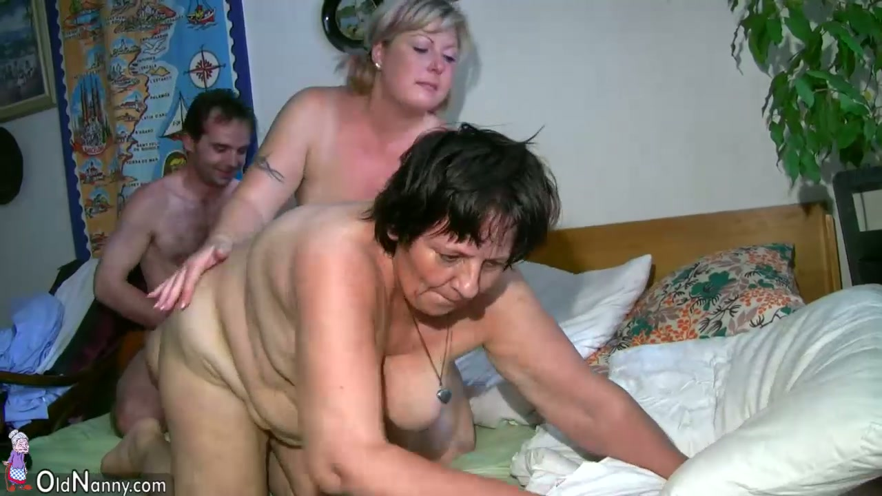 Oldnanny Chubby Mature And Chubby Milf Have Threesome Sex-1918