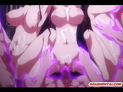 Hentai coed caught by tentacles and hot fucked by shemale anime