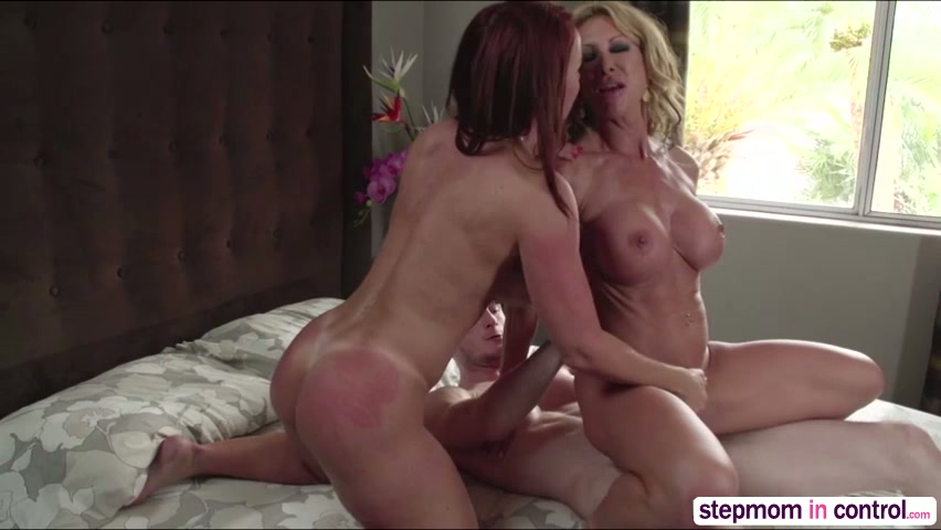 Ava Addams Stepmom Threesome