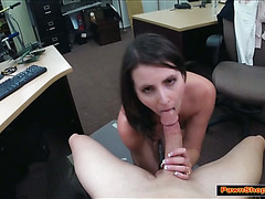 Busty wife comforted with a hard cock