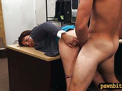 Milf fucked by pawnkeeper to earn money