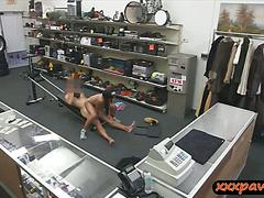 Gym instructor slammed in the pawnshop
