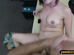 Customers wife fucked by perv pawnkeeper