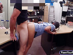 Desperate nurse sells her stuff n fucked