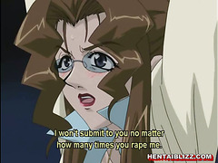 Captive hentai with bigboobs milking and wetpussy fucking