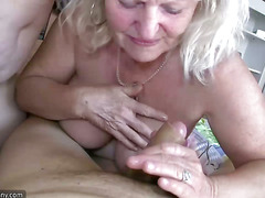 Oldnanny Chubby granny and chubby mature masturbate pussy