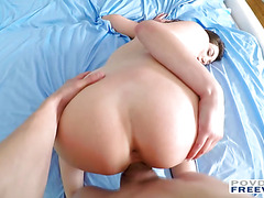 Gia Love gets tanned and fucked filmed in POV with 3D surround sound