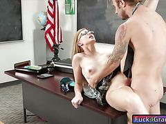 Alexa Grace is a model turns into a slut