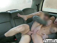Big boobs passenger fucked and jizzed