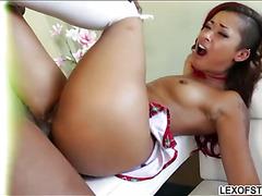 Huge juggs Tori Avano anal ripped wide open by ebony cock