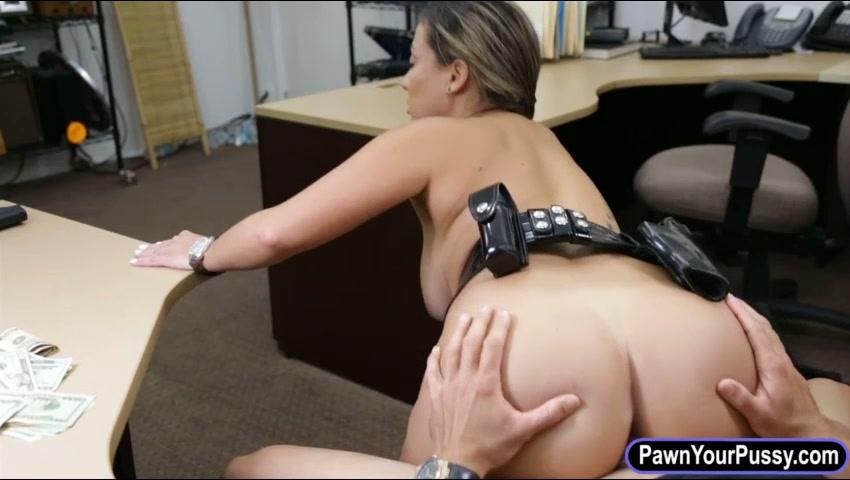 Female Police Officer Blowjob