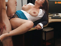 Big tits milf pounded and receives money for her hubbys bail