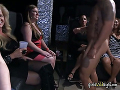 Lonely Widows Party And Suck On Cocks Of Strippers