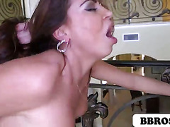Julianna Vega fucked around the house