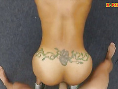 Muscular ebony banged at the pawnshop to earn extra money