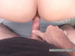 Penelope Sky fucks hard and eats all the cum