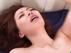 Amateur milf, Keito Miyazawa, fucked in threesome