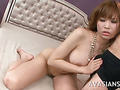 Tight japanese pussy gets fingered and fisted