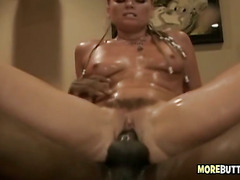 Black Cock Blowing And Anal Fuck