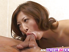 Chihiro Hara has cunt in doggy
