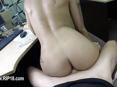 Real amateur girls banged by horny guy