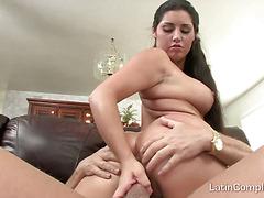 Wide Latina Arse Gape & Fuck