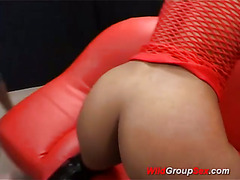 skinny babe in wild groupsex