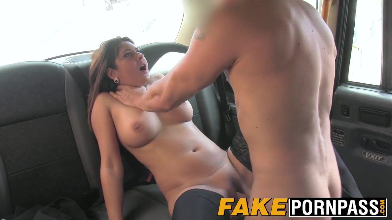 Busty Belgian Milf Falls For The Charm Of The Taxi Driver-6334