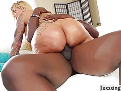 Ryan Conner gets fucked by big black cock in a hardcore mode