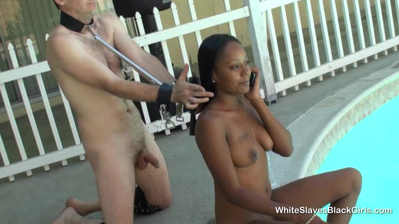 Slave Jerks Off Mistress
