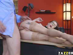 Let see how Anna got her pretty face got jizzed after a hardcore fucking