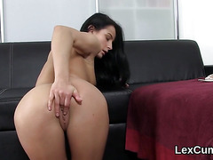 Luscious czech looker lexi dona pleases and orgasms