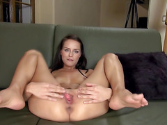 luxury czech blonde pussy gaping