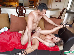 Layla London and Nicole Bexley Fucks For The 1st Time