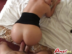 Hot blonde MILF in naughty anal fuck