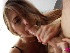 Sexy Riley Reid passionately licked and fucked hard