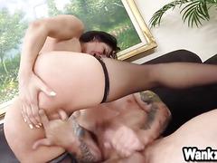 Horny cougar Samia Duarte Fucked with Stepson
