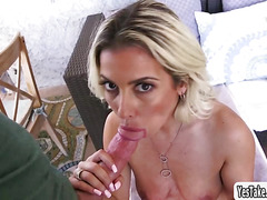 Alana Luv gets her ass stretched for the first time