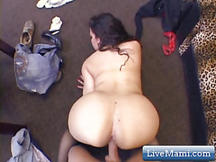 Hardcore Chubby Latina Riding