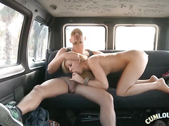 Skyler Is Getting Oral In A Van