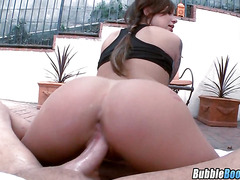 Big Butt Brunette Gets Fucked Karmen Karma